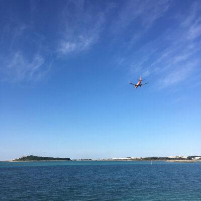 豊崎から瀬長島